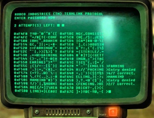 "CNN's depiction of how Russian hackers ""hack"" - gleaned from a screenshot of the video game ""Fallout 4""."